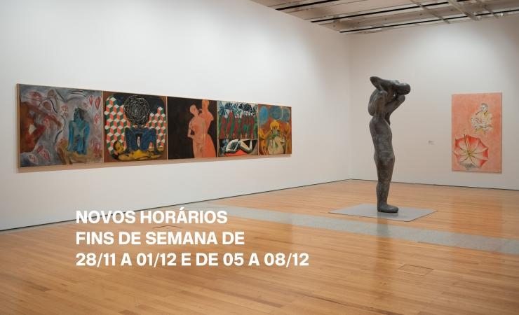 Novos horários nos fins de semana de 28/11 a 01/12 e de 05 a 08/12 | Museu Coleção Berardo, Lisboa