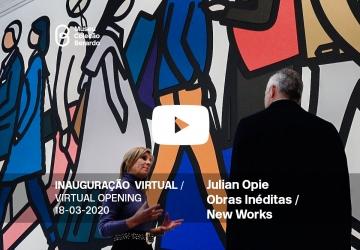 Inauguração Virtual - Replay: Julian Opie, Obras Inéditas / New Works
